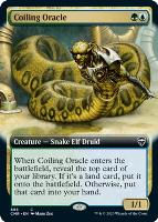 Commander Legends Variants Foil: Coiling Oracle (Extended Art)