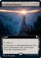 Commander Legends Variants Foil: Command Beacon (Extended Art)