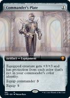 Commander Legends Variants Foil: Commander's Plate (Extended Art)