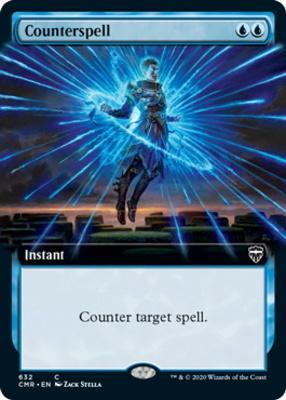 Commander Legends Variants: Counterspell (Extended Art)