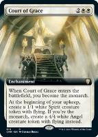 Commander Legends Variants Foil: Court of Grace (Extended Art)