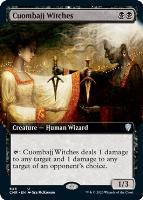 Commander Legends Variants Foil: Cuombajj Witches (Extended Art)