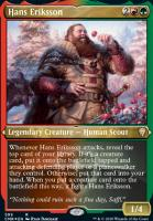 Commander Legends Variants: Hans Eriksson (Foil-Etched)
