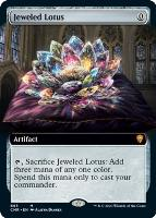 Commander Legends Variants: Jeweled Lotus (Extended Art)