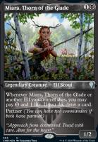 Commander Legends Variants: Miara, Thorn of the Glade (Foil-Etched)