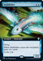 Commander Legends Variants: Mulldrifter (Extended Art)