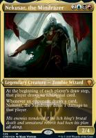 Commander Legends Variants: Nekusar, the Mindrazer (Foil-Etched)