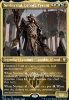 Commander Legends Variants: Nevinyrral, Urborg Tyrant (Foil-Etched)