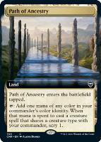Commander Legends Variants: Path of Ancestry (Extended Art)