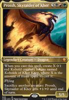 Commander Legends Variants: Prossh, Skyraider of Kher (Foil-Etched)
