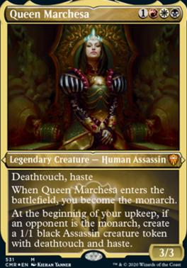 Commander Legends Variants: Queen Marchesa (Foil-Etched)