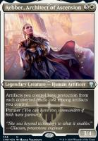 Commander Legends Variants: Rebbec, Architect of Ascension (Foil-Etched)