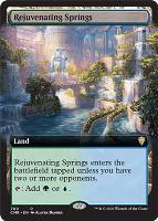 Commander Legends Variants Foil: Rejuvenating Springs (Extended Art)