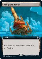 Commander Legends Variants: Reliquary Tower (Extended Art)