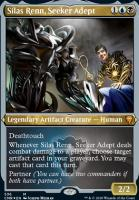Commander Legends Variants: Silas Renn, Seeker Adept (Foil-Etched)