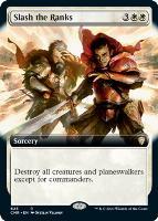 Commander Legends Variants: Slash the Ranks (Extended Art)