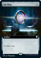 Commander Legends Variants Foil: Sol Ring (Extended Art)