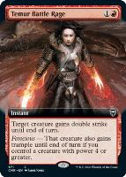 Commander Legends Variants: Temur Battle Rage (Extended Art)