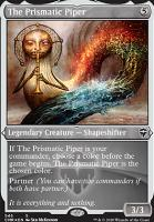 Commander Legends Variants: The Prismatic Piper (Foil-Etched)