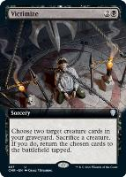 Commander Legends Variants: Victimize (Extended Art)