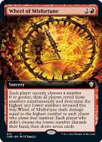 Commander Legends Variants Foil: Wheel of Misfortune (Extended Art)