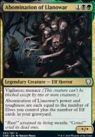 Commander Legends: Abomination of Llanowar
