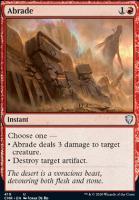 Commander Legends: Abrade (Commander Deck)