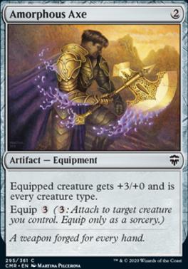 Commander Legends: Amorphous Axe