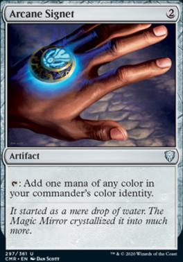 Commander Legends Foil: Arcane Signet