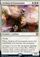 Commander Legends Foil: Archon of Coronation