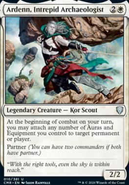 Commander Legends: Ardenn, Intrepid Archaeologist