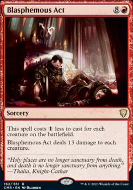 Commander Legends: Blasphemous Act