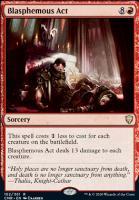 Commander Legends Foil: Blasphemous Act