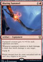 Commander Legends: Blazing Sunsteel (Commander Deck)