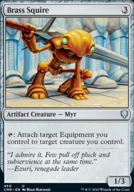 Commander Legends: Brass Squire (Commander Deck)