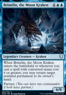 Commander Legends Foil: Brinelin, the Moon Kraken