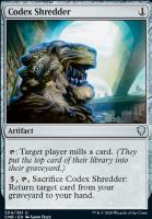 Commander Legends Foil: Codex Shredder