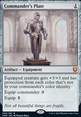 Commander Legends: Commander's Plate