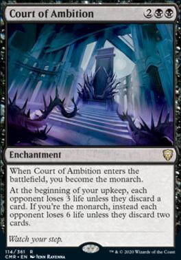 Commander Legends: Court of Ambition