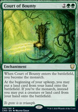 Commander Legends Foil: Court of Bounty