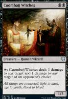Commander Legends Foil: Cuombajj Witches