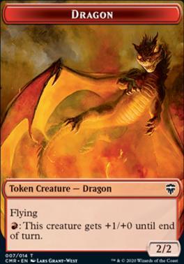 Commander Legends: Dragon Token