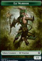 Commander Legends: Elf Warrior Token