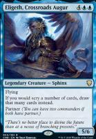 Commander Legends Foil: Eligeth, Crossroads Augur