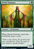 Commander Legends Foil: Elvish Visionary