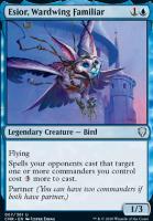 Commander Legends Foil: Esior, Wardwing Familiar