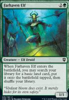 Commander Legends Foil: Farhaven Elf