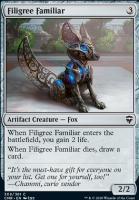 Commander Legends Foil: Filigree Familiar
