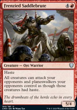 Commander Legends: Frenzied Saddlebrute