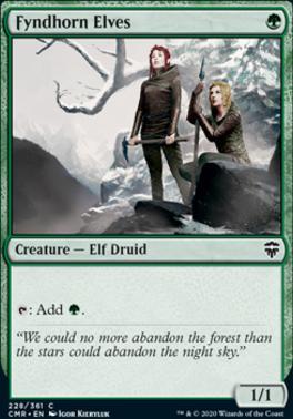 Commander Legends: Fyndhorn Elves